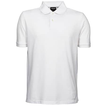 Heavy Polo in White von Tee Jays (Artnum: TJ1400N