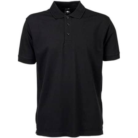 Luxury Stretch Polo in Black von Tee Jays (Artnum: TJ1405