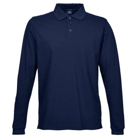 Luxury Stretch Long Sleeve Polo von Tee Jays (Artnum: TJ1406