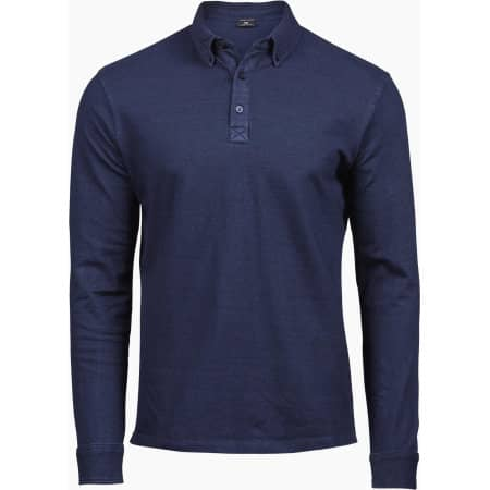 Fashion Long Sleeve Luxury Stretch Polo von Tee Jays (Artnum: TJ1412
