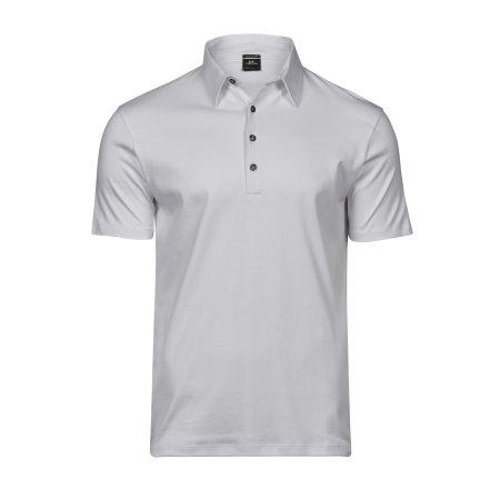 Pima Cotton Polo in White von Tee Jays (Artnum: TJ1440