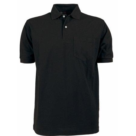 Pocket Polo in Black von Tee Jays (Artnum: TJ2400