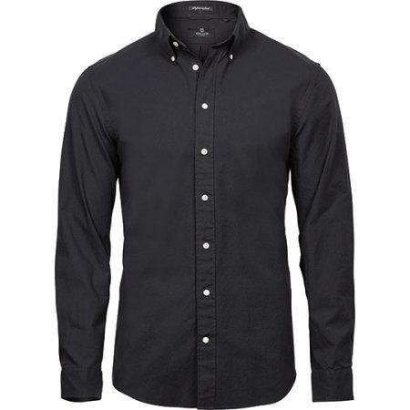 Perfect Oxford Shirt in Black von Tee Jays (Artnum: TJ4000