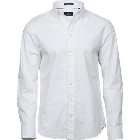 Perfect Oxford Shirt in White von Tee Jays (Artnum: TJ4000