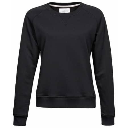 Ladies` Urban Sweat in Black von Tee Jays (Artnum: TJ5401