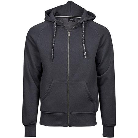 Fashion Full Zip Hood in Dark Grey (Solid) von Tee Jays (Artnum: TJ5435N
