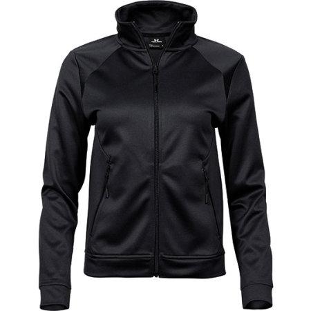 Ladies Performance Zip Sweat in Black von Tee Jays (Artnum: TJ5603