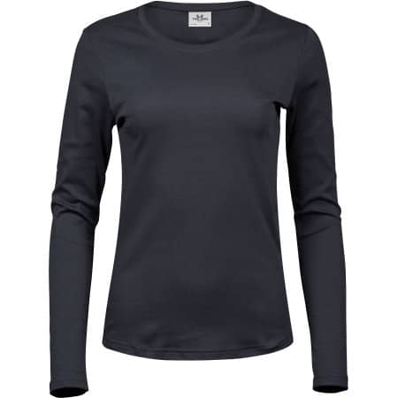 Ladies` Long Sleeve Interlock Tee von Tee Jays (Artnum: TJ590