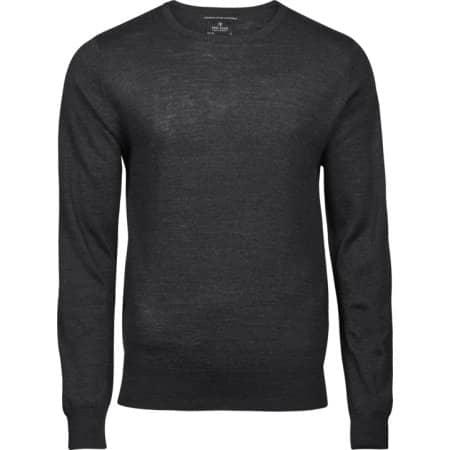 Men`s Crew Neck Sweater von Tee Jays (Artnum: TJ6000