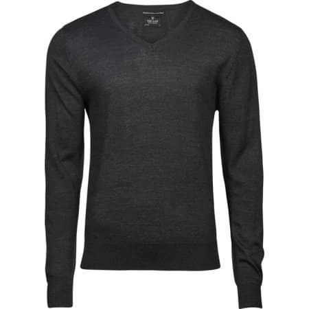 Men`s V-Neck Sweater Tailor Fit von Tee Jays (Artnum: TJ6001