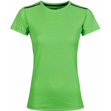 Womens Luxury Sport Tee in Shocking Green von Tee Jays (Artnum: TJ7011