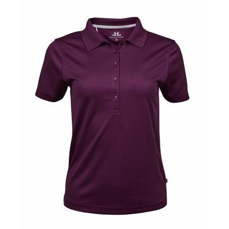 Ladies` Performance Polo in Purple von Tee Jays (Artnum: TJ7105