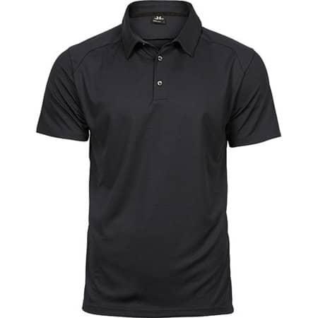 Luxury Sport Polo in Black von Tee Jays (Artnum: TJ7200