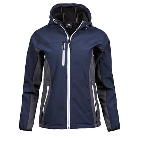 Ladies` Hooded Lightweight Performance Softshell von Tee Jays (Artnum: TJ95150