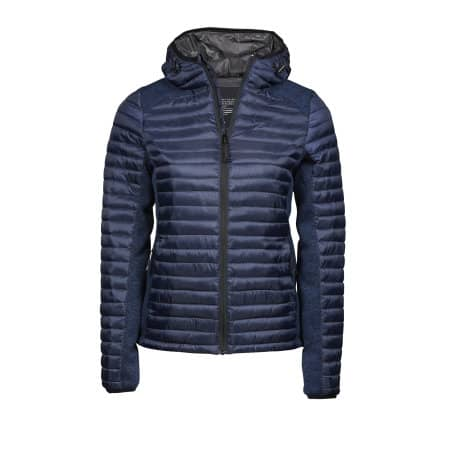 Ladies` Hooded Aspen Crossover Jacket von Tee Jays (Artnum: TJ9611