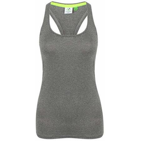 Ladies` Racer Back Vest in Grey Marl von Tombo (Artnum: TL506