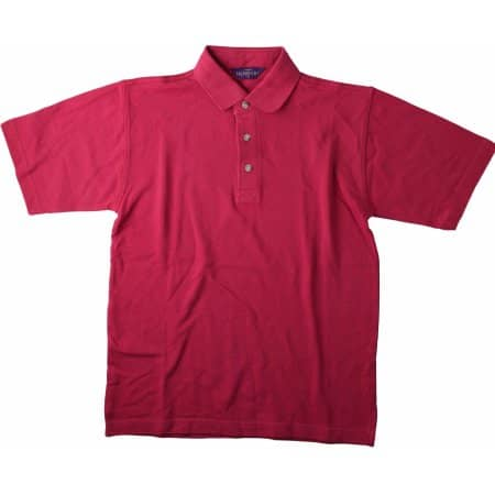 Classic Cotton Piqué Polo Shirt von Henbury (Artnum: W100