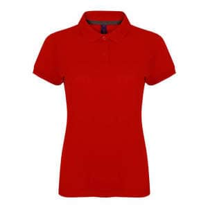 Ladies` Microfine-Piqué Polo Shirt