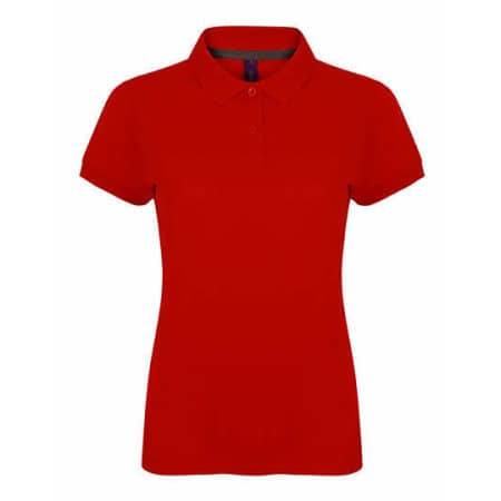 Ladies` Microfine-Piqué Polo Shirt von Henbury (Artnum: W102