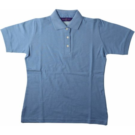 Ladies` Classic Cotton Piqué Polo Shirt von Henbury (Artnum: W121