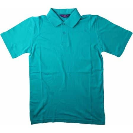 Men`s Stretch Piqué Polo Shirt von Henbury (Artnum: W305