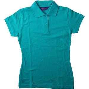 Ladies` Stretch Piqué Polo Shirt