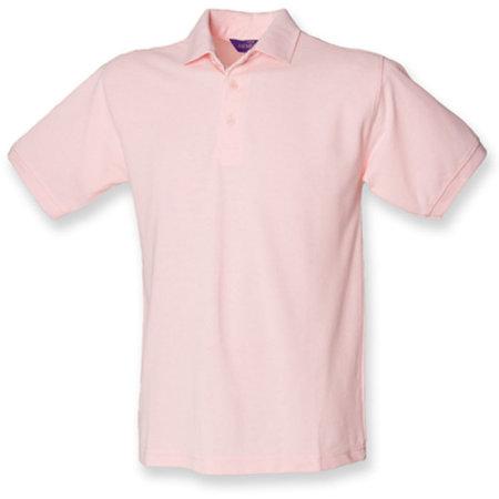 Men`s 65/35 Classic Piqué Polo Shirt in Pink von Henbury (Artnum: W400