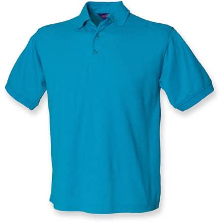 Men`s 65/35 Classic Piqué Polo Shirt von Henbury (Artnum: W400
