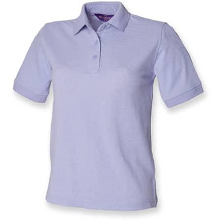 Ladies` 65/35 Classic Piqué Polo Shirt in Lavender von Henbury (Artnum: W401