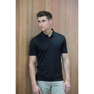Men`s Stretch Polo Shirt + Wick Finish