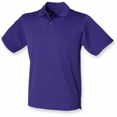 Men`s Coolplus Wicking Polo Shirt von Henbury (Artnum: W475