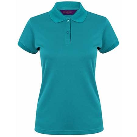 Ladies` Coolplus Wicking Polo Shirt in Bright Jade von Henbury (Artnum: W476