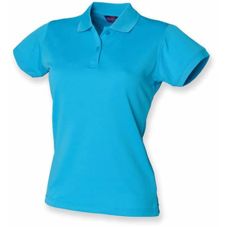 Ladies` Coolplus Wicking Polo Shirt von Henbury (Artnum: W476