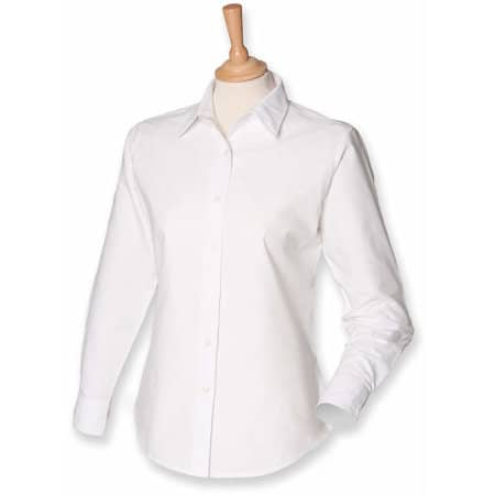 Ladies` Classic Long Sleeved Oxford Shirt von Henbury (Artnum: W511
