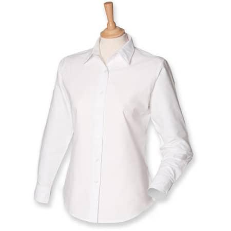 Ladies` Classic Long Sleeved Oxford Shirt von Henbury (Artnum: W511