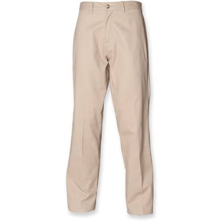 Men`s Chino Trousers mit Teflon von Henbury (Artnum: W608