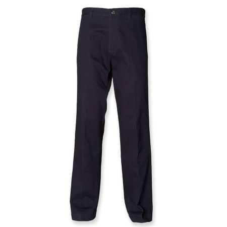 Ladies` 65/35 Chino Trousers von Henbury (Artnum: W641