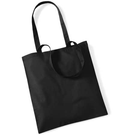Bag for Life - Long Handles in Black von Westford Mill (Artnum: WM101