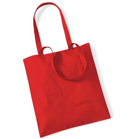 Bag for Life - Long Handles in Bright Red von Westford Mill (Artnum: WM101