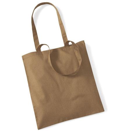 Bag for Life - Long Handles in Caramel von Westford Mill (Artnum: WM101