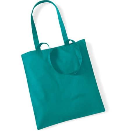 Bag for Life - Long Handles in Emerald von Westford Mill (Artnum: WM101