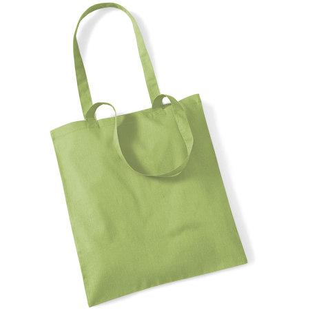 Bag for Life - Long Handles in Kiwi von Westford Mill (Artnum: WM101