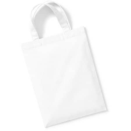 Cotton Party Bag for Life in White von Westford Mill (Artnum: WM103