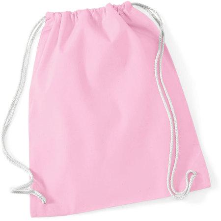Cotton Gymsac in Classic Pink|White von Westford Mill (Artnum: WM110