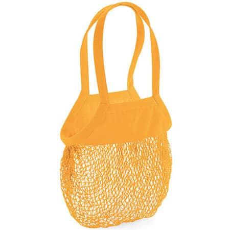 Organic Cotton Mesh Grocery Bag von Westford Mill (Artnum: WM150