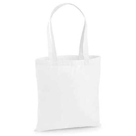Premium Cotton Bag in White von Westford Mill (Artnum: WM201