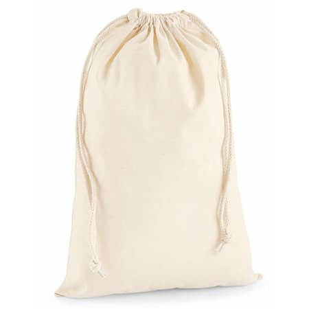 Premium Cotton Stuff Bag von Westford Mill (Artnum: WM216