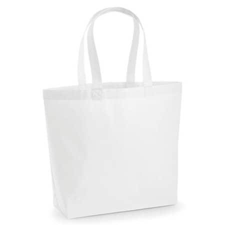 Premium Cotton Maxi Bag in White von Westford Mill (Artnum: WM225