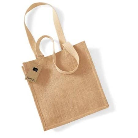 Jute Compact Shopper von Westford Mill (Artnum: WM406