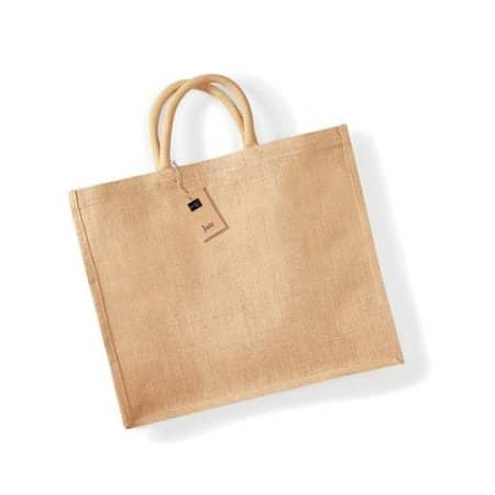 Jute Jumbo Shopper von Westford Mill (Artnum: WM408